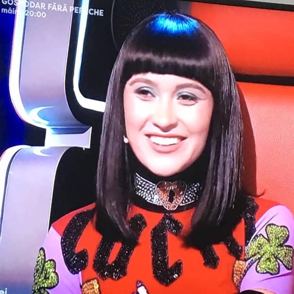 Irina Rimes, ținută spectaculoasă la Vocea României. Rochia, apreciată de fani. Foto