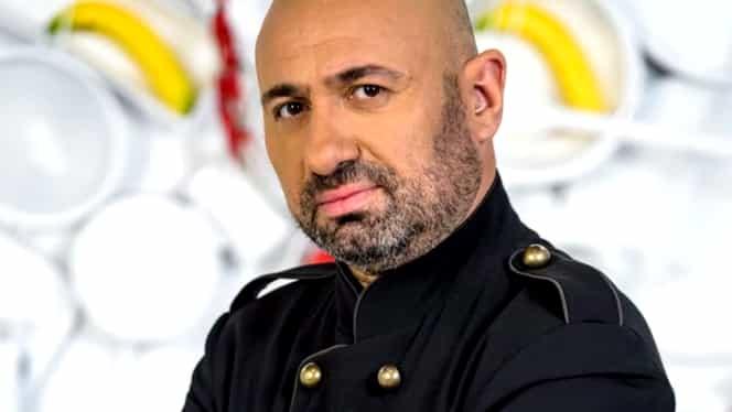 Cătălin Scărlătescu de la Chefi la Cuțite a fost filmat alături de o blondă voluptuoasă