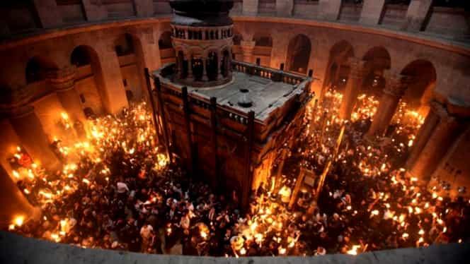 Un preot a dezvăluit secretul Focului Sacru din Biserica Sfântului Mormânt