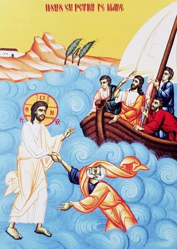 Calendar ortodox, 18 august! Doi sfinți importanți plus duminica a 9-a după Rusalii, umblarea pe mare