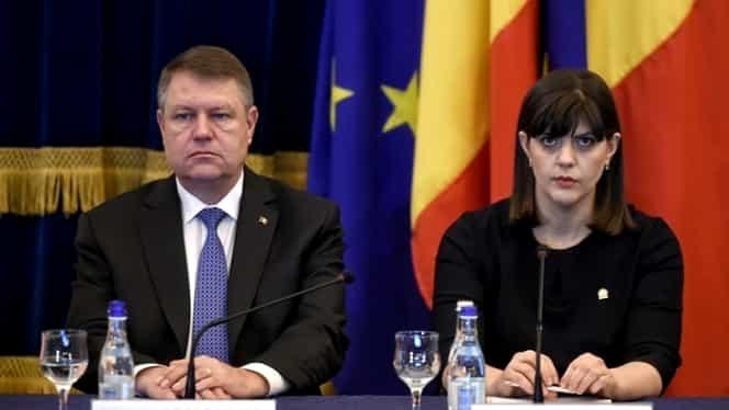 """Klaus Iohannis, la bilanţul DNA: """"Suntem departe de o revocare"""""""
