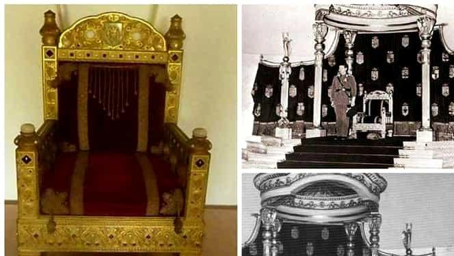 Tronul Regelui Mihai, la un muzeu din judeţul Argeş. Cum a scăpat de mânia comuniştilor!