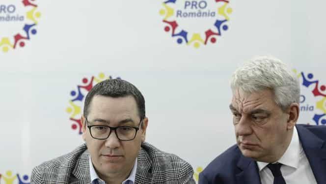 Scandal între foștii premieri din Pro România. Victor Ponta îl acuză pe Mihai Tudose că negociază în secret cu PNL