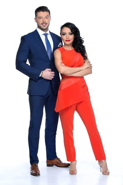Andreea Mantea si Victor Slav au fost invitati de Chef Foa sa participe ca un cuplu la emisiunea