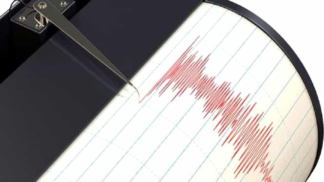 Cutremur cu magnitudinea de 3,4 pe scara Richter în Vrancea