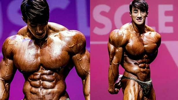 """Transformarea fabuloasa a lui """"Arnold din Coreea"""". Cum arata inainte sa se apuce de bodybuilding"""