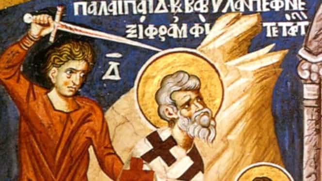 Calendar ortodox miercuri, 4 septembrie 2019. Biserica îi pomenește pe Sfinții Vavila și Prorocul Moise