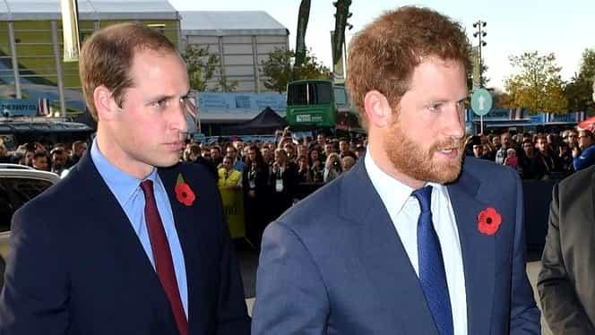 Prinţul William şi Prinţul Harry se fac vedete de cinema! Vor juca într-o serie cu sute de milioane de fani!