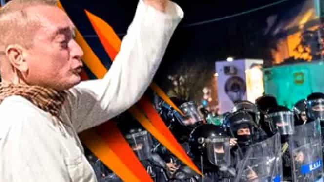 """Colonelul de Jandarmerie Cătălin Paraschiv, """"Dirijorul în alb"""" de la Protestele din 10 august, prieten cu soţul procuroarei care îl anchetează"""