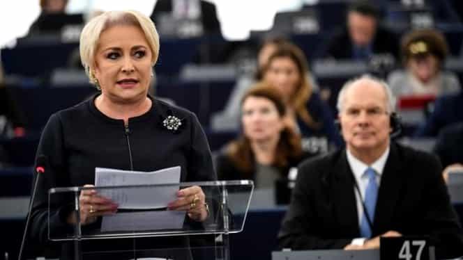 Viorica Dăncilă conduce delegația Guvernului României, la Strasbourg