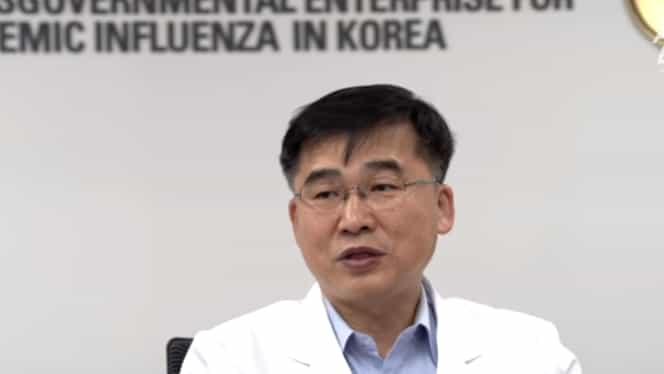 """VIDEO Avertismentul unui expert sud-coreean: """"Coronavirusul se poate lua și prin aer. Ajută să purtați mască"""""""