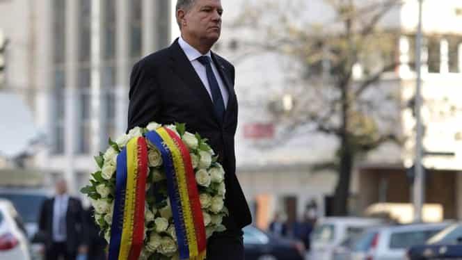 Pelerinaj în faţa clubului Colectiv, la 4 ani de la tragedie. Klaus Iohannis a fost prezent