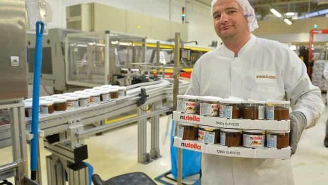 Fabrica de Nutella, închisă de producătorul Ferrero! Motivul, apariţia unei bacterii