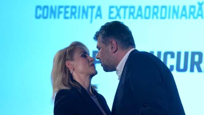 Dragoste pe timp de social democrație! Gabriela Firea îl vrea pe Marcel Ciolacu drept președinte al partidului! Ciolacu îi promite susținere în lupta pentru Primărie