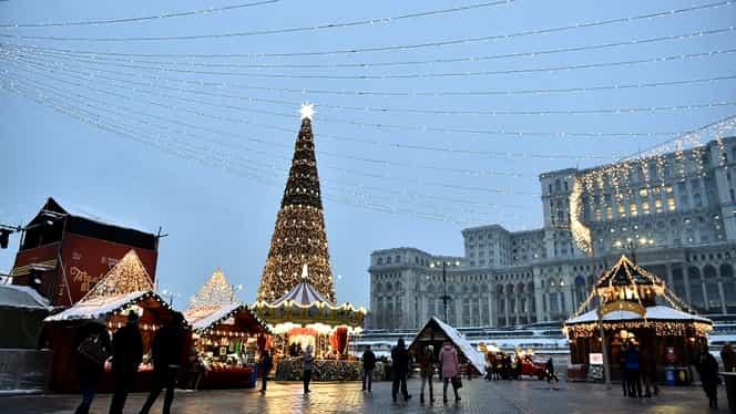 Vremea de Crăciun și Revelion. Meteorologii nu vin cu vești bune. Cum vor fi temperaturile până la sfârșitul anului