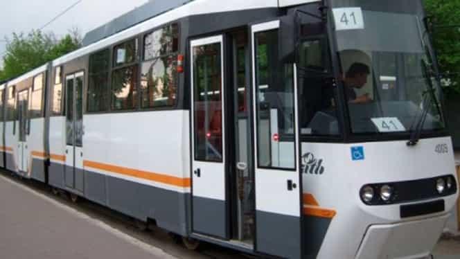 Linia de tramvaie 41 va fi suspendată, în zilele următoare! Va fi haos pentru călători