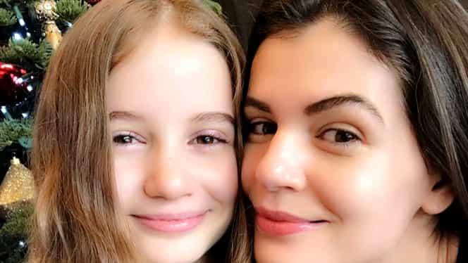 Cum arată Irina Columbeanu la 13 ani. Fata lui Irinel Columbeanu îi calcă pe urme mamei
