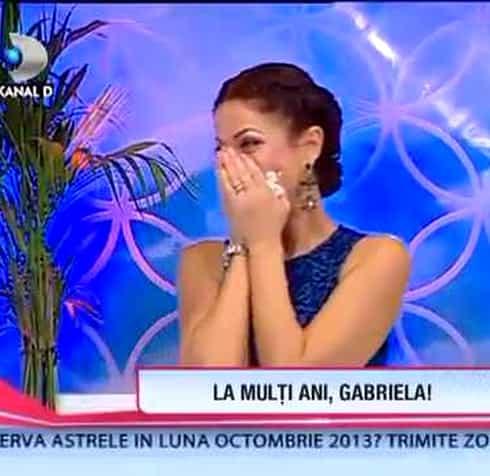 Gabriela Cristea, plătită regește! Vedeta a vorbit despre salariul său!