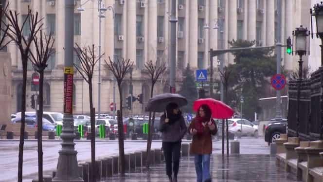 ANM a emis prognoza meteo specială pentru Bucureşti! Temperaturile continuă să scadă