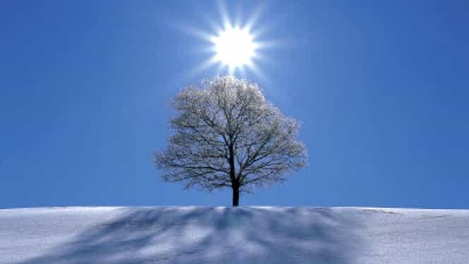 Prognoza meteo pentru următoarea perioadă! Zăpada se topește și vin temperaturi de primăvară