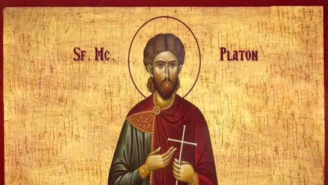 Calendar ortodox, 18 noiembrie 2019. Sfântul Mucenic Platon, fratele lui Antioh