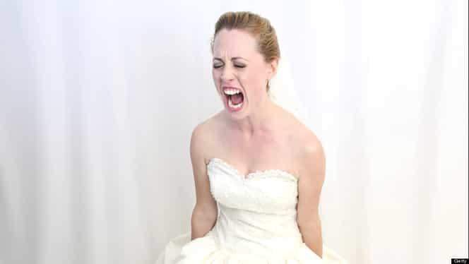 A aflat în ziua nunţii un secret bine ascuns. Mirele a rămas cu ochii în lacrimi