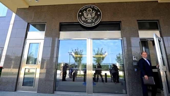 Ambasada Statelor Unite la Bucureşti şi-a închis activitatea, din lipsă de fonduri!