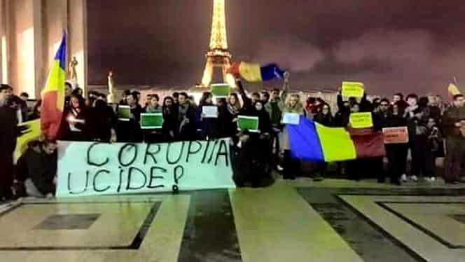 GALERIE FOTO. 35.000 de protestatari în Capitală. Numărul din întreaga ţară: 70.000! Şi DIASPORA a ieşit în stradă