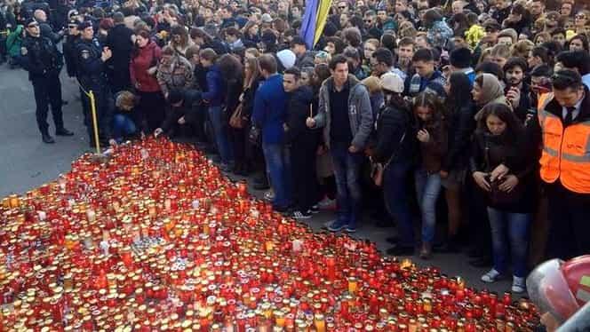 Colectiv, marș de comemorare a victimelor. Câți oameni s-au adunat