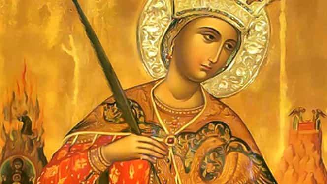 Sfânta Mare Muceniţă Ecaterina, ultima şansă pentru persoanele necăsătorite! Ce trebuie să faci azi!