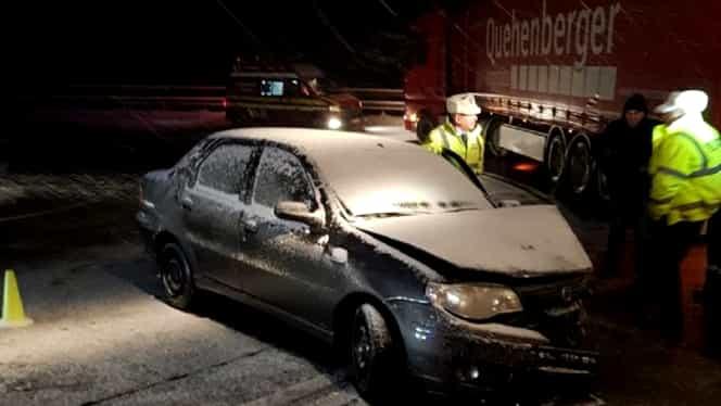 Accident cu 6 victime de Bobotează. Evenimentul s-a produs pe DN 1, între Predeal și Brașov