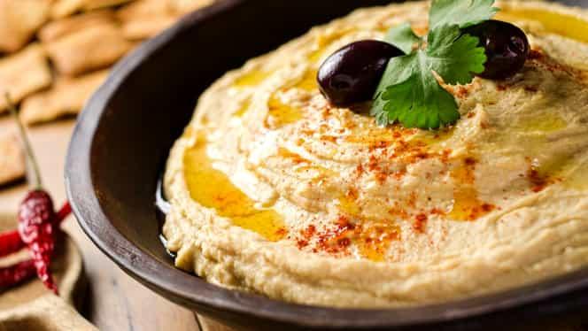 De ce e bine să mănânci Humus. 14 beneficii pentru un organism de fier