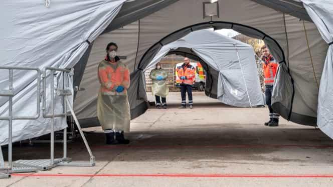 Un bărbat suspectat cu coronavirus a murit la Spitalul Județean de Urgență Pitești. Testul pacientului a ieșit negativ