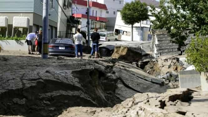 Cutremur de 6,4 grade pe scara Richter! Autoritățile din Japonia sunt în alertă