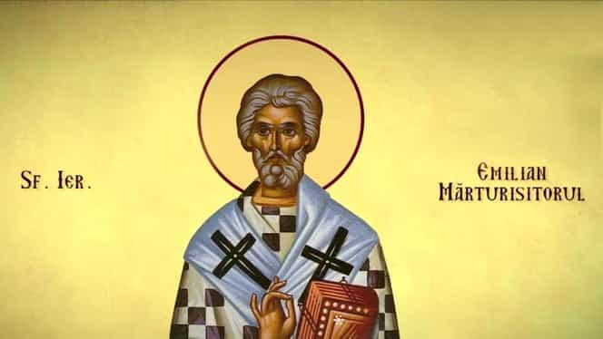 Calendar ortodox, 8 august: Sfântul Ierarh Emilian Mărturisitorul