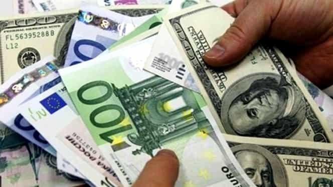 Curs valutar BNR azi, 19 octombrie 2018. Creștere pentru euro și dolar