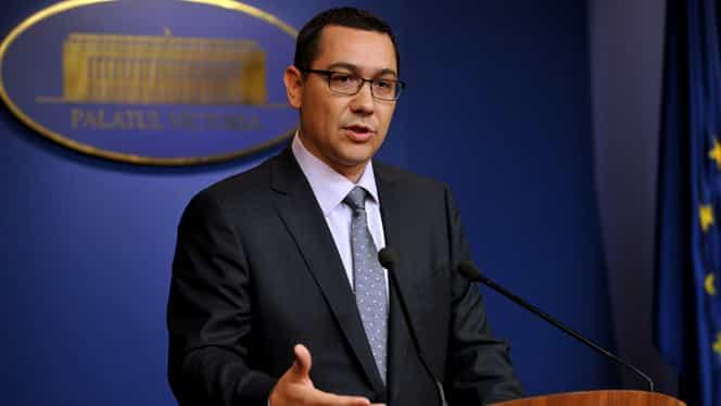 Ponta anunţă un posibil REFERENDUM privind aderarea la Zona Euro