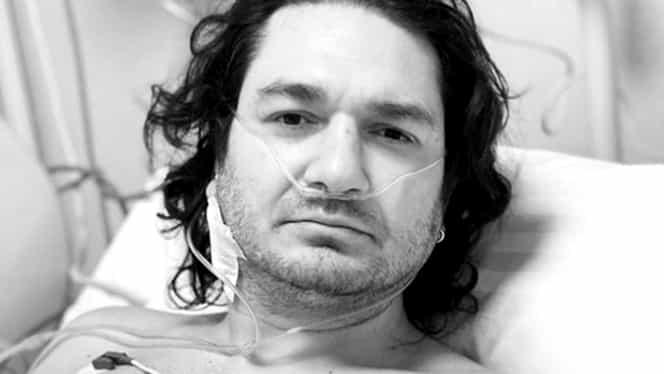 Chef Florin Dumitrescu, fotografie de pe patul de spital! Bucătarul a fost operat