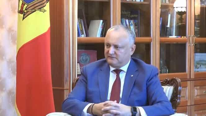 Igor Dodon se caută de boală. Președintele Republicii Moldova a fost văzut la Spitalul Cancelariei de Stat din Chișinău