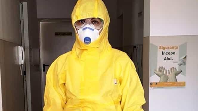 """Mesajul emoționant al unei asistente care tratează primul caz de coronavirus din Alba: """"Poate acum înțelegeți"""""""