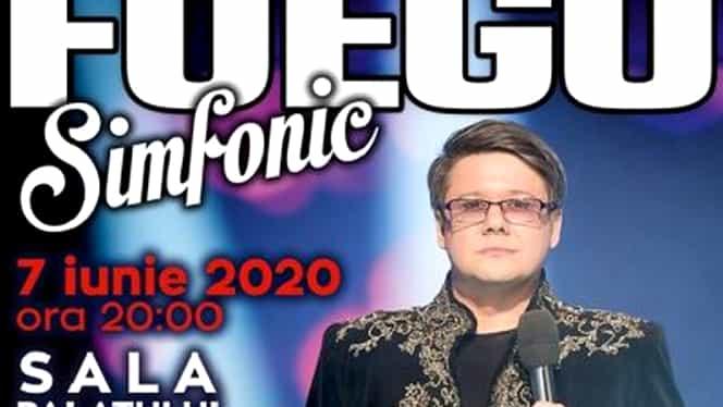 FUEGO și-a reprogramat marele spectacol din 22 martie, de la Sala Palatului, din cauza coronavirusului