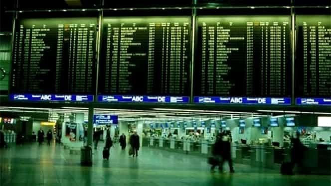 Grevă în opt aeroporturi din Germania și zboruri anulate! 220.000 de pasageri afectați