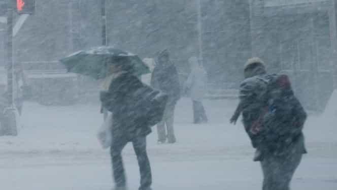 Prognoza meteo 26 februarie. Intră în vigoare codul portocaliu de ninsori şi ger!