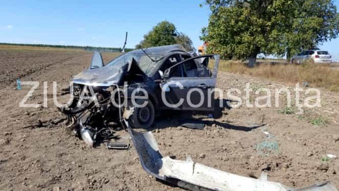 Accident rutier la Năvodari! Doi fotbalişti, implicaţi
