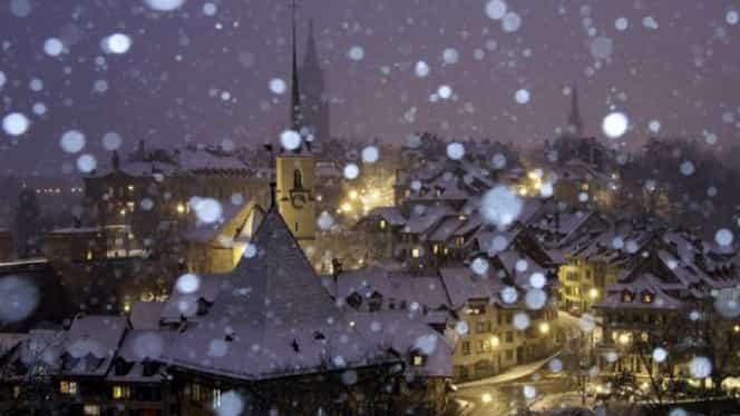 Ce se întâmplă dacă ninge de Moș Nicolae. Semnificația este una aparte
