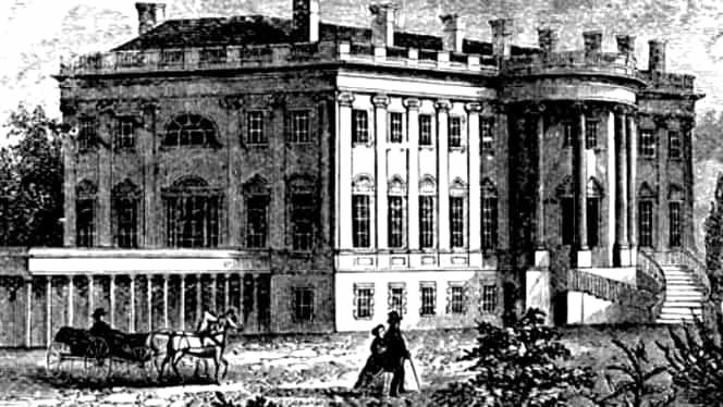 3 noiembrie, semnificaţii istorice. Este înfiinţată Casa Albă, reşedinţa preşedinţilor SUA