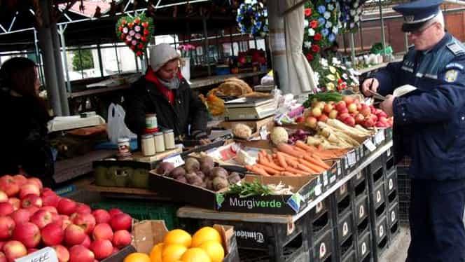Razie de sărbători în piețe și magazine alimentare: Au fost confiscate peste două tone de carne