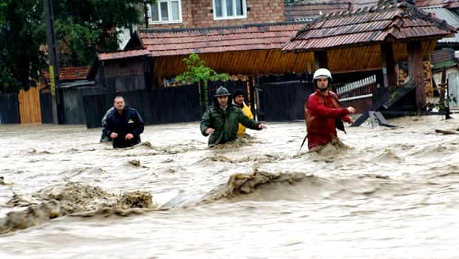 Ploile au făcut prăpăd în toată ţara! Vezi cele mai afectate zone