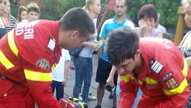 Accident într-un parc de joacă din Capitală! O fetiţă s-a rănit la coloană