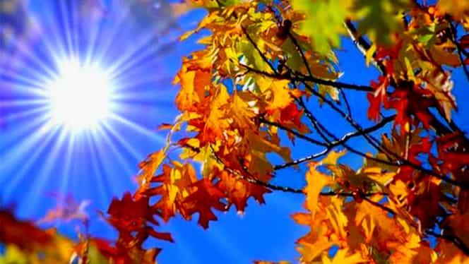 Vremea în București marți 18 septembrie. Temperaturile de toamnă își fac ușor simțită prezența